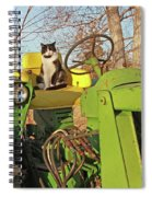 New Hired Hand Spiral Notebook