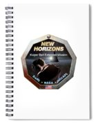 New Horizons Extended Mission Logo Spiral Notebook