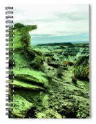 New Mexico Raw Spiral Notebook
