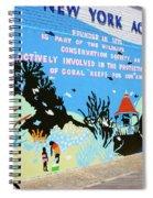 New York Aquarium, Coney Island, Brooklyn, New York Spiral Notebook