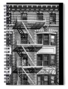 New York City Fire Escapes Spiral Notebook