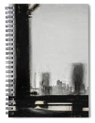 New York City From The Bridge #nyc #cityscape Spiral Notebook