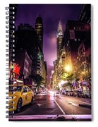New York City Street Spiral Notebook