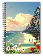 New Zealand Orewa Beach Spiral Notebook