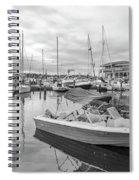 Newport Rhode Island Harbor Spiral Notebook
