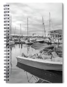 Newport Rhode Island Harbor Spiral Notebook
