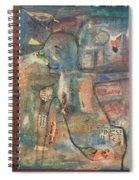 Ngoma Lady Spiral Notebook