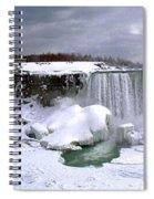 Niagara Falls Late Winter Spiral Notebook