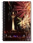 Niagara Falls Rain Spiral Notebook