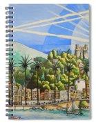 Nice Waterfront Spiral Notebook