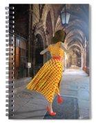 Nicolasa's Dance Spiral Notebook