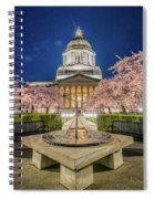 Night At The Capitol Spiral Notebook