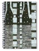 Night Birches Spiral Notebook