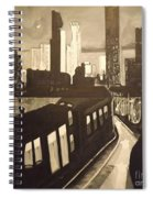 Night Bustle Spiral Notebook