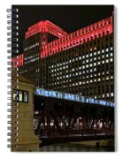 Night City Colors Spiral Notebook
