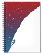 Night Climbing II Spiral Notebook