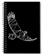 Night Eagle Spiral Notebook