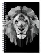 Night Lion Spiral Notebook