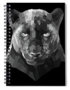 Night Panther Spiral Notebook