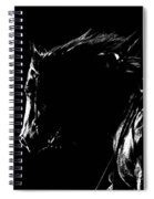 Night Riders Spiral Notebook