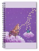 Night Sky Music Makers Spiral Notebook