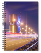 Night Transit Spiral Notebook