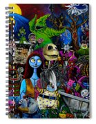 Nightmare Before Christmas Spiral Notebook