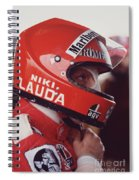 Niki Lauda. 1976 United States Grand Prix Spiral Notebook