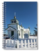 Ninilchik Russian Orthodox Church Spiral Notebook