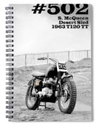 No 502 Mcqueen Desert Sled Spiral Notebook