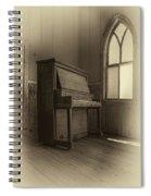 No More Hallelujahs 3 Spiral Notebook