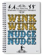 No18 My Silly Quote Poster Spiral Notebook