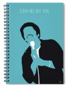 No265 My Ben E King Minimal Music Poster Spiral Notebook