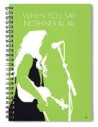 No276 My Alison Krauss Minimal Music Poster Spiral Notebook