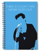 No289 My The Smiths Minimal Music Poster Spiral Notebook