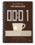 No973 My The Equalizer Minimal Movie Poster Spiral Notebook