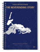 No975 My The Neverending Story Minimal Movie Poster Spiral Notebook
