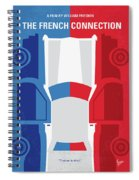 No982 My The French Connection Minimal Movie Poster Spiral Notebook