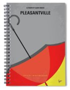 No990 My Pleasantville Minimal Movie Poster Spiral Notebook