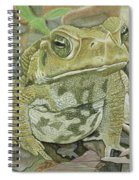 Noble Toad Spiral Notebook