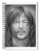 Norman Reedus Spiral Notebook