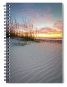 North Beach Dunes Spiral Notebook