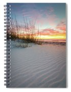 North Beach Dunes Spiral Notebook