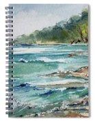 North Beach, Leland, Mi Spiral Notebook