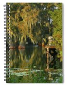 North Dock Peace Spiral Notebook