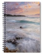 North Shore Sunset Surge Spiral Notebook