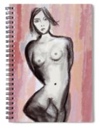 Nude 51 Spiral Notebook
