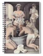 Nude And Obeying Spiral Notebook
