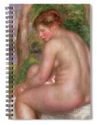 Nude, Back View, 1911 Spiral Notebook