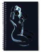 Nude Model Gesture Xlxix Spiral Notebook